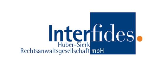 Logo Interfides Rechtsanwaltskanzlei
